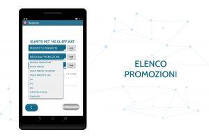 Pagina elenco promozioni Blueberry