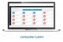 Pagina categorie clienti CRM Durian