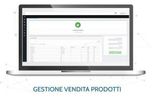 pagina gestione vendita dei prodotti
